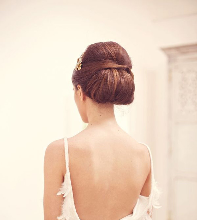 20 Low Updo Hair Styles for the Bride  ~ we ♥ this! moncheribridals.com