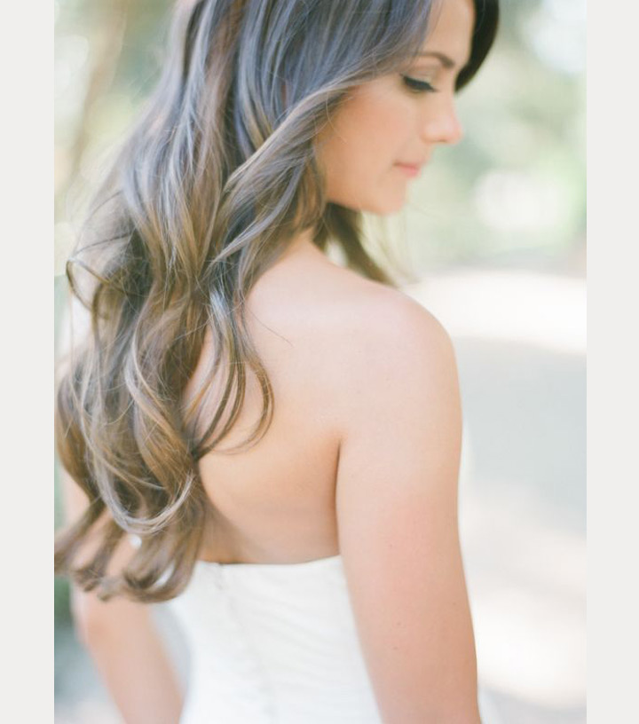 Soft, Sexy Waves For the Bride & Bridesmaids ~ we ❤ this! moncheribridals.com