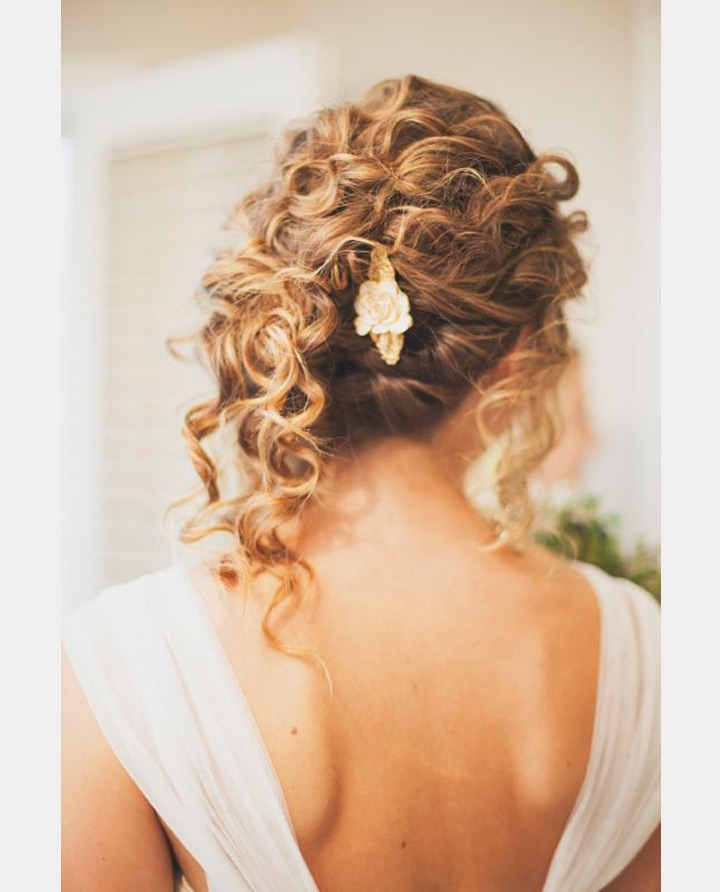 Drop Dead Gorgeous Curly Wedding Updos