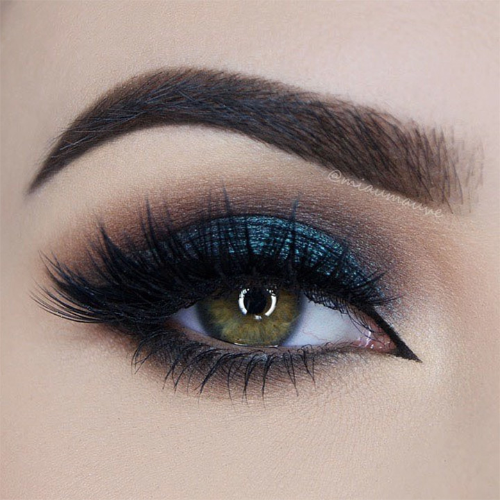 dramatic eye makeup