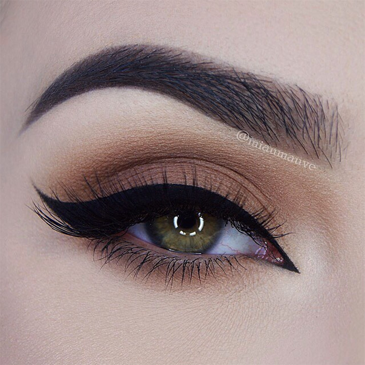 brown eye makeup