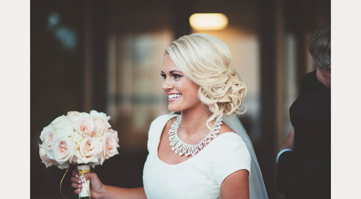 Drop Dead Gorgeous Curly Wedding Updos ~ we ♥ this! moncheribridals.com