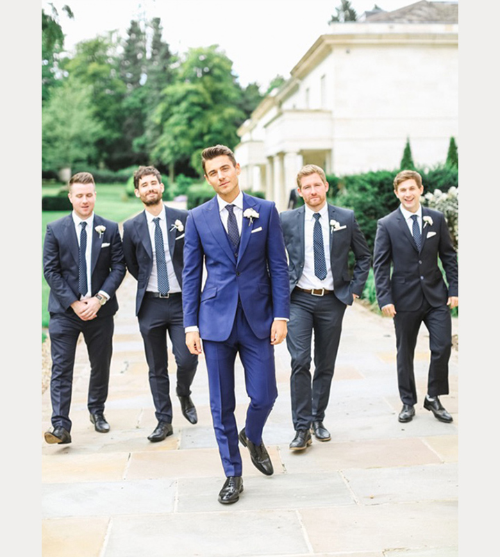 7 Distinctive Grooms That Stand Out From Their Groomsmen ~ we ❤ this! moncheribridals.com