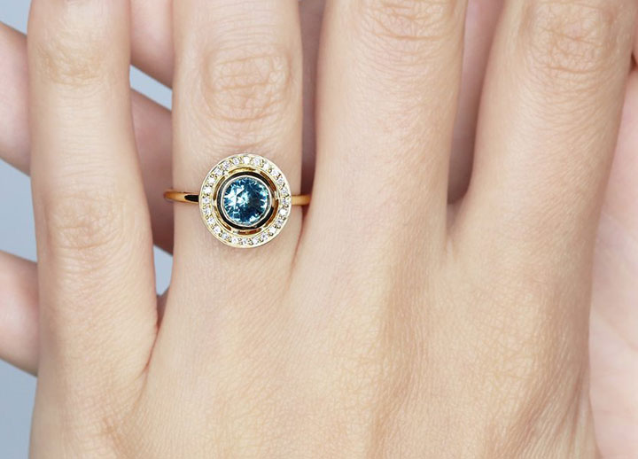 Montana Sapphire Engagement Rings by S. Kind & Co.