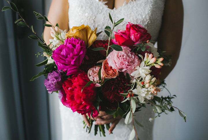 Vibrant Colorful Palette For This May Wedding