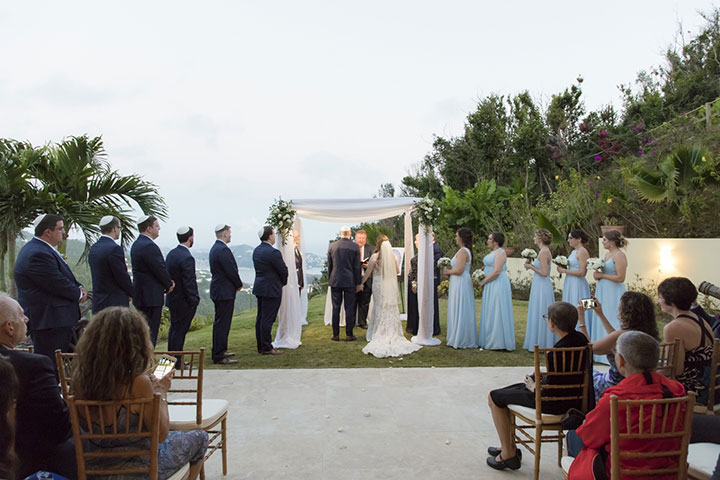 Tropical Wedding in St. Thomas