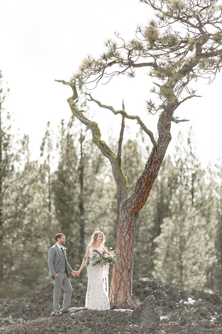 "Snowy Styled Shoot Featuring Martin Thornburg ""Amber"""