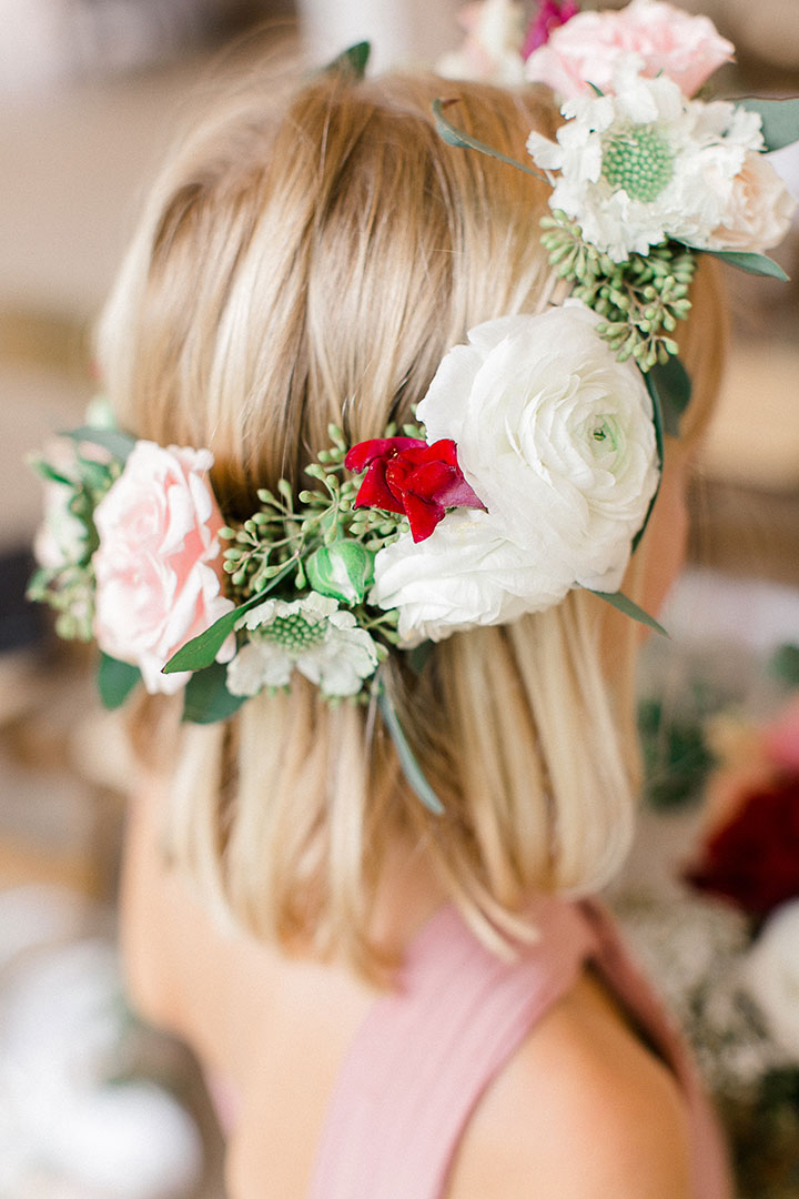 10 of the Sweetest Floral Wreaths for Flower Girls