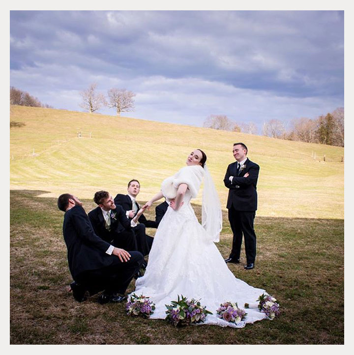 "Confident Bride Rocks Martin Thornburg ""Wyomia"""