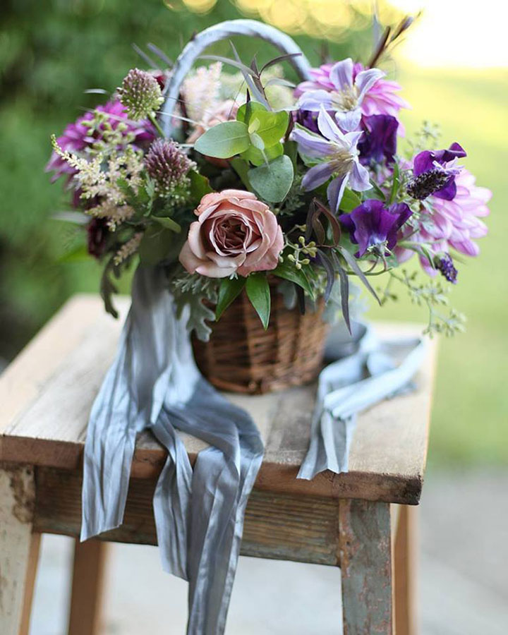 12 Flower Baskets Your Flower Girl Will Love