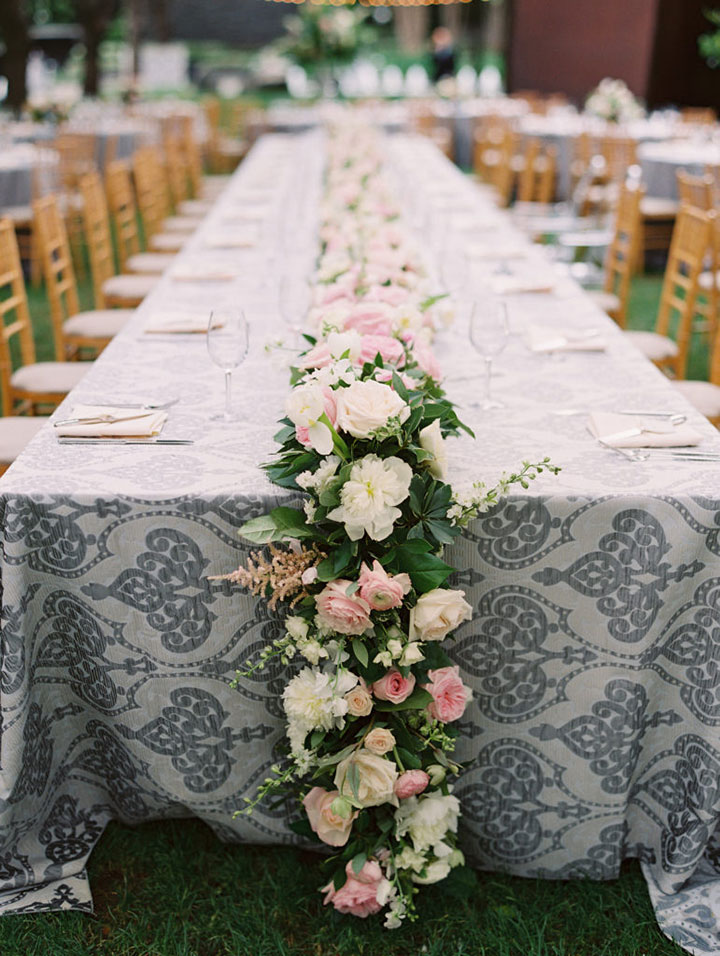 A Pale Pink, Mauve & Grey Wedding In Spring
