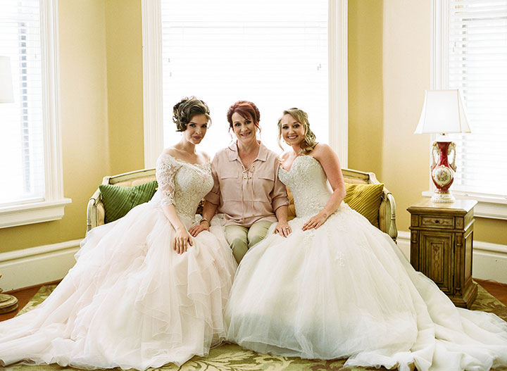"Love & Lace Bridal Boutique's Styled Shoot Featuring ""Aurelia"" & ""Marquesa"""