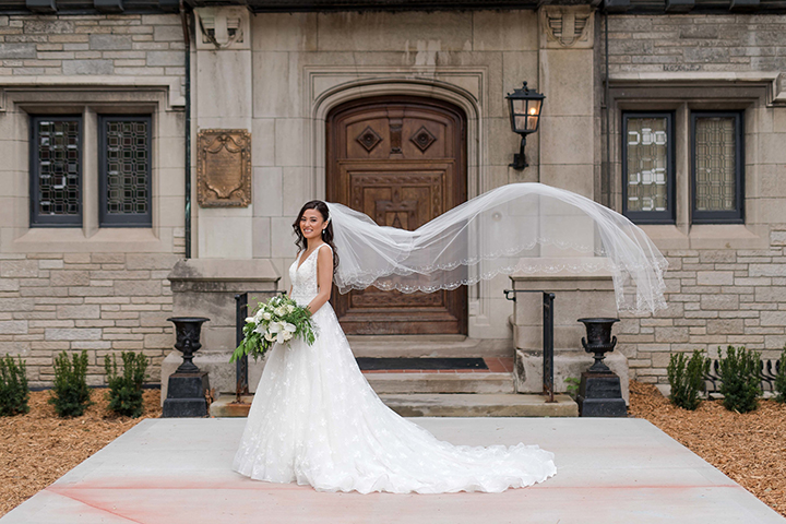 "Most Beautiful Bride Wears Martin Thornburg ""Jin"" Part Two"