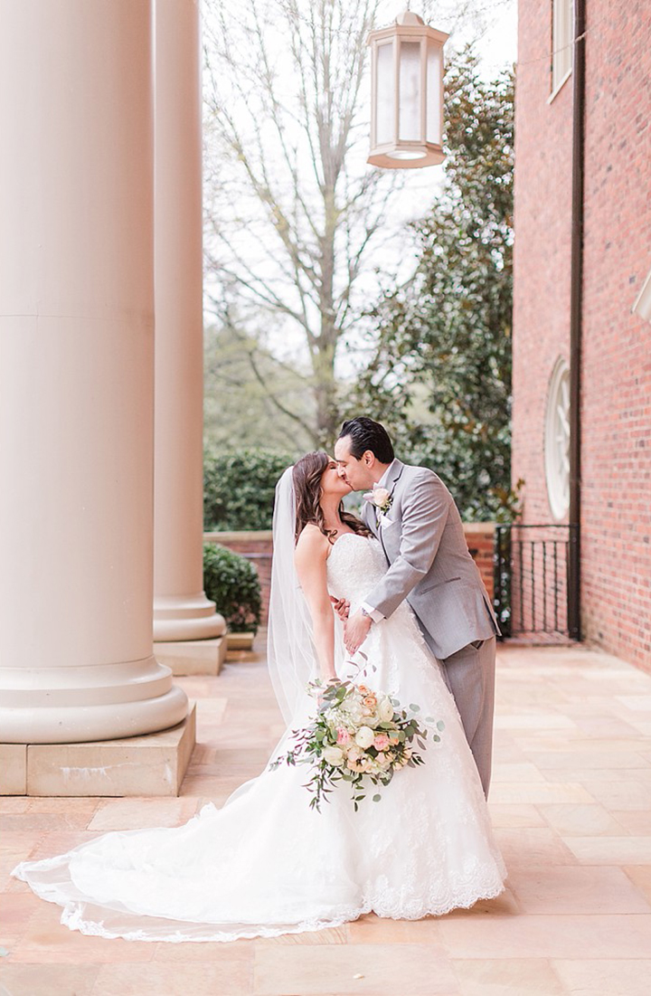 "The Bride Wore Martin Thornburg ""Wyomia"" To Her NYC Themed Wedding In South Carolina"