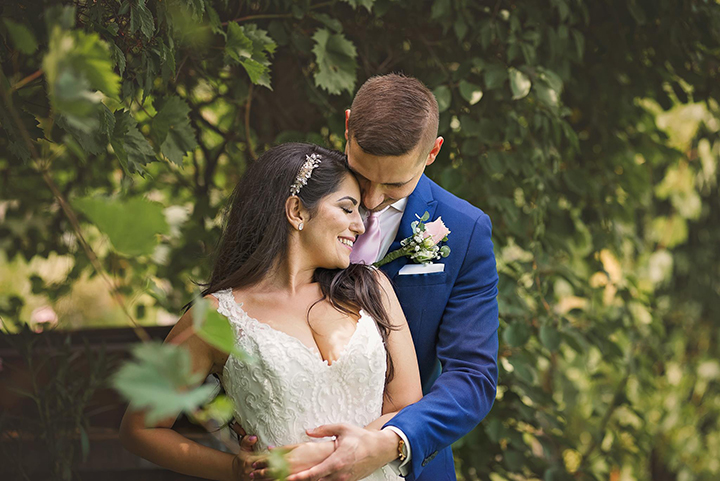 "Stunning Bride Wears ""Amber"" To Her Wedding In Slovakia"
