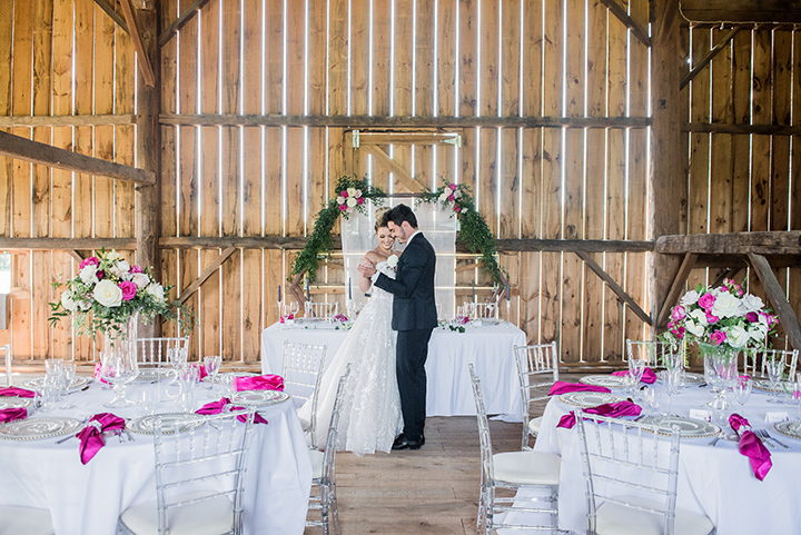 "Bright & Bold Barn Styled Shoot Featuring Martin Thornburg ""Coda"""