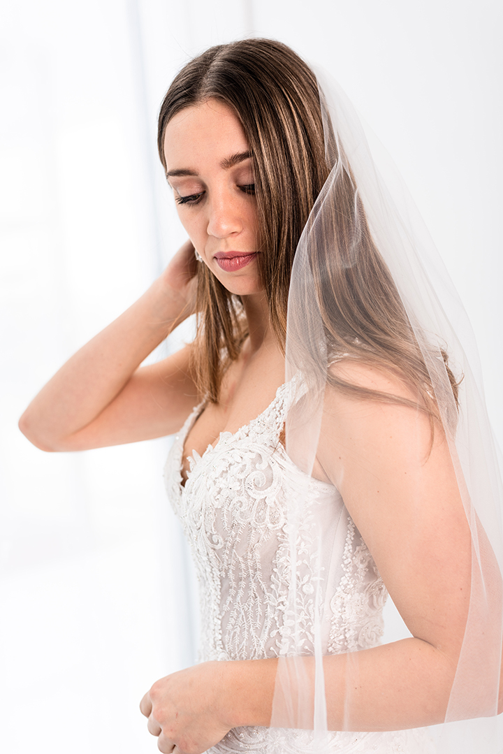 "White on White Styled Shoot Featuring Martin Thornburg ""Eden"""