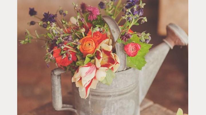 Mason Jar Rustic Wedding Centerpieces