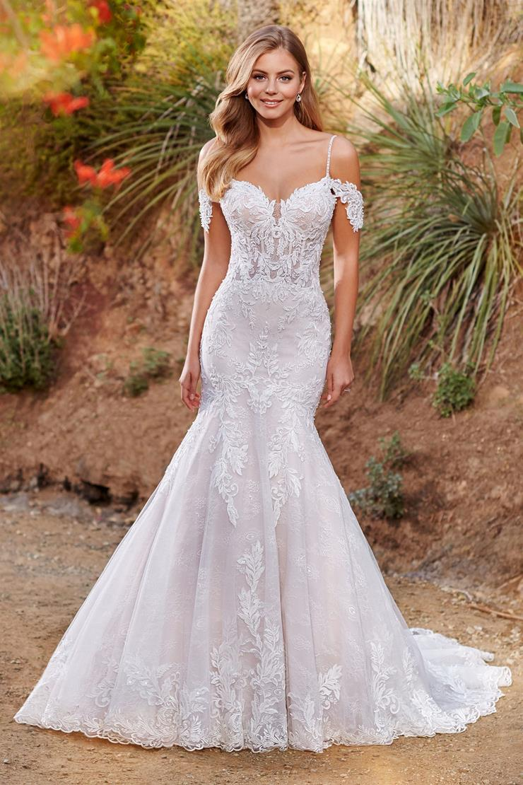 Cambria One-of-a-kind mermaid gown with lace corset bodice